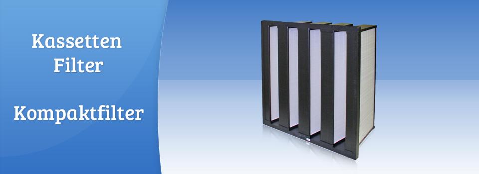 Kassetten Filter, Kompaktfilter